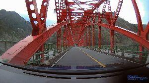 3431 - 宮地エンジニアリンググループ(株) インフラの橋梁整備は大事です。  一服:ドラレコ、橋のある風景