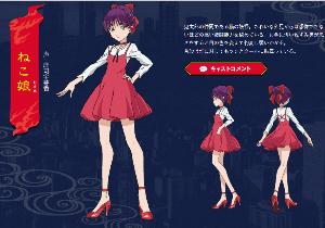 4816 - 東映アニメーション(株) ねこ娘がどんどん可愛くなっていく・・・