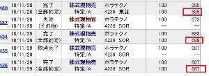 """4239 - (株)ポラテクノ      これは、SBI証券の分や~ (-""""-;)       明日、必ず!! 680円以"""