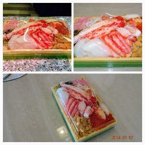 THE FXやで。 本日のランチ。  たまの海鮮美味しい。