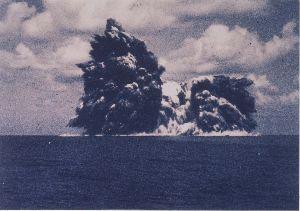 ■『続・日本沈没』ー映画化計画■ CM-2さん、こんにちは。Googleマップの海底地形図見ました。カルデラ火山何ですね。ついでにWi