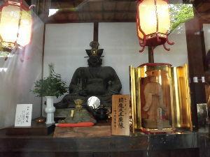 パワースポット・寺社巡り・御朱印集め仲間募集 in 関西 追伸;再度閻魔大王像を載せます。