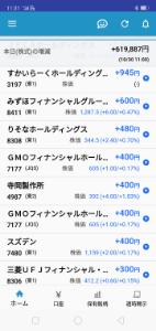 3197 - (株)すかいらーくホールディングス ほれほーれ↓