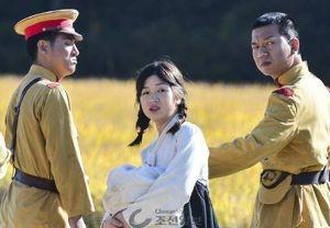 安倍君には、そろそろ、引退を願う 日本軍が朝鮮人女性を拉致する映画が     韓国で撮影開始!      出演者は在日韓国人だらけ