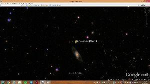 宇宙のひもを発見! 回っているのがわかります。 うん