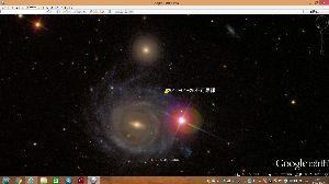 宇宙のひもを発見! 久しぶりの不思議画像です。