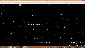 宇宙のひもを発見! 惑星級の何かが編隊を組んで飛んでいるように見えます。