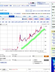 7782 - (株)シンシア チャート見ると凄まじいわ(_ _)