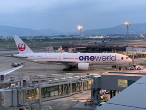 9201 - 日本航空(株) ありがとうございます。 ボーイング777でした。