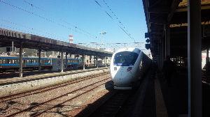 †九州の鉄道を応援しよう† 長崎駅にて白いかもめ  車内とても快適!
