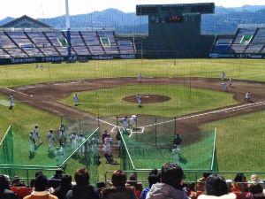 宮崎をドライブ プロ野球キャンプ  この時期の一番の楽しみ! キャンプめぐり  今年は、めぐってきました。 ソフトバ