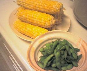 毎日できる何かを続ける 畑で作った野菜の一部