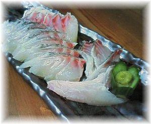 毎日できる何かを続ける 鯛の湯引き皮ツキ刺身