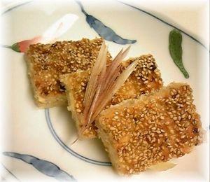 毎日できる何かを続ける 松風焼き 魚のすり身や鶏ひき肉等 味噌、みりん 卵黄 出汁で味付け、すり鉢(フードプロでも可) にか