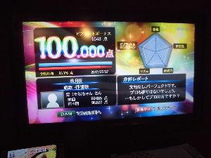 将棋で遊ぼ☆彡 ついに出ました!   100.000点「朧月夜」(唱歌) 過去最高点99.215点(7月11日)