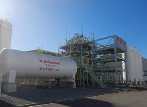 7012 - 川崎重工業(株) 2019年12月05日 プレスリリース 国内メーカー初の商用化に向けた新型水素液化機の実証試験を開始