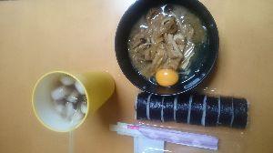 (・ω・;)(;・ω・)愛いずこ な、な、なぎさん  巻き寿司、完食  すき焼き🍲後1回  おやすみなさい  ・・・あわ  .。o○z