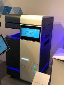 4902 - コニカミノルタ(株) これですね。 2017年秋に発売する次世代複合機「Workplace Hub」の概要を説明した。複合
