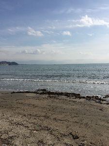聖蹟桜ヶ丘のトピックをもう一度 なんで小田急多摩センターにいたかというと鎌倉に行って来ました。 今日は天気も良く海も穏やかでした。