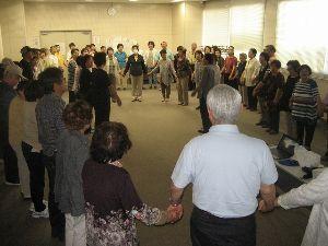 歌声喫茶in行橋 昨日18日は 6月度定例 歌声  来場者 やく80名  新しく4人の方が 新規入会 会員外 入場者1