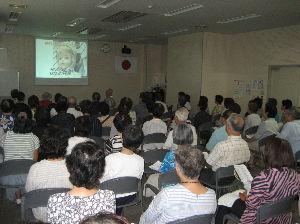 歌声喫茶in行橋 8月20日 盛況のうちに無事終了  80名あまりの参加でした。