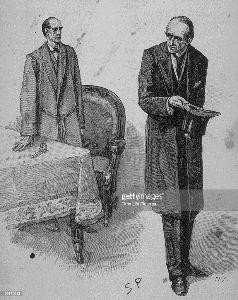 女たちの冷たく静かな空間 >モリアーティ教授の手下になりたいなあ!  元数学教授でホームズの宿敵~。 直接会ったのは一回