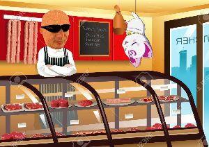 ☆微妙なトピ☆ 売り、売り、子豚のハミー激安特売! そこの奥さん、今日はハミ肉でバーモントカレー作ってや