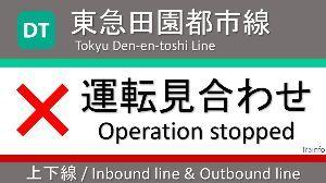 9005 - 東京急行電鉄(株) 2014年の人身事故発生件数が10件以上の関東主要路線の平均運転見合わせ時間 (レスキューナウまとめ