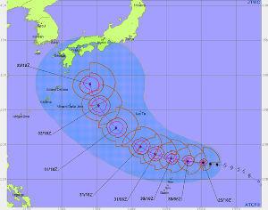 ☆愚ッさん課QCサークル開催☆ //////・・・台風21号情報・・・///////  台風21号は猛烈に発達しながら日本本土を目指