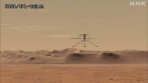 株価に影響することはなんですか 重さ2キロの小型ヘリコプター「インジェニュイティ」