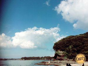 見たこと、聞いたこと、感じたこと 今日は三浦の某海岸に来ています^ ^ 知り合いの海の家で、やはり知り合いのバンドの演奏会がこれから有