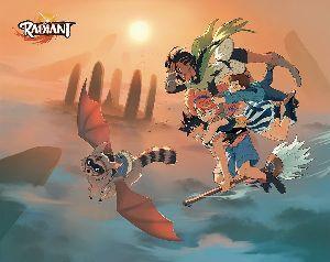 新作アニメ情報室 「ラディアン」  フランスの漫画家(バンド・デシネ作家)、トニー・ヴァレントによる冒険ファンタジーが