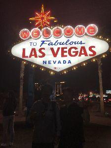 Practical English Usage  > Having returned safely from LA, Las Vegas,