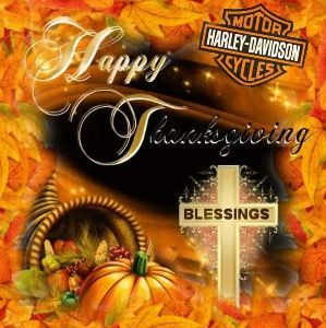 Practical English Usage Have a blessed Thanksgiving my family and friends.