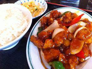 しげちゃんのひ・と・り・ご・とっ♪ 酢豚定食