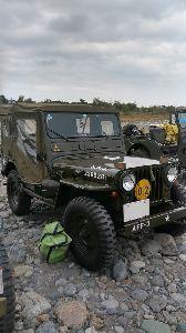 ★スーパーシェルパ★ 軍用車両のイベントにて、埼玉県の某所まで行って来ました。 今回は、天気も怪しくちょっと寒かったせいか