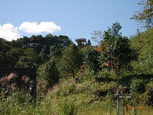 *** ディジカメ散歩 *** 「椿山の展望台」 です。  皆さん、  こんばんは。  ーー 「椿山の展望台」 です。