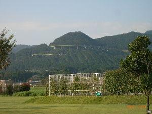*** ディジカメ散歩 *** 「えびのループ橋」 です。  皆さん、  おはようございます。  ーー 「えびのループ橋」 です。