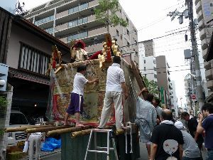 皆様散歩してますか。 祇園祭から片づけ作業から