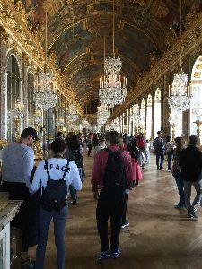 パリの空の下♡ ヴェルサイユ宮殿  鏡の間  二度目の訪問