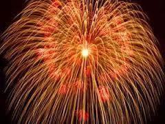 6287 - サトーホールディングス(株) では、昼間ですが 大輪の花火でも    ド~ンド~ンド~ン ズド~ン