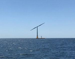 9508 - 九州電力(株) 低コストの浮体式洋上風力 北九州で稼働 NEDOなど実証 2019/5/21 日本経済新聞  新エネ