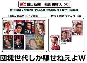 放送倫理 朝日新聞は先細り