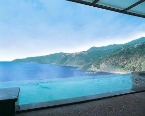 想いを込めて 17文字 伊豆にDHCの温泉施設があって、赤沢という場所ですが、 露天風呂からの景色が素晴らしく、レストランの