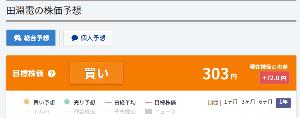6624 - 田淵電機(株) 個人の目標株価303円となってますが もっと高くなるんじゃないでしょうか