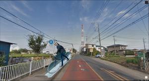 6628 - オンキヨー(株) 今日、グーグルストリートビュー?グーグルアース?みたいな屋根にカメラ積んでる車とすれ違ったよ。 楽し