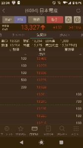 6594 - 日本電産(株) あげてるな~