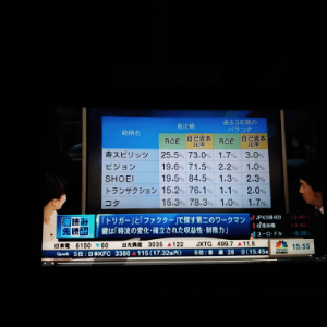 4923 - コタ(株) 日経cnbc深読み先読み 第2なワークマン候補銘柄! ROEと自己資本比率が高い銘柄が買われるそうで