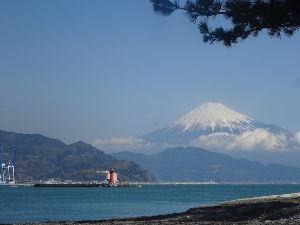 この指と~まれ♪ お天気が良さそうだったので、富士山を見ん気行きました。