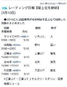 6981 - (株)村田製作所 今日、目標株価下げられてるけどこれなら満足です。
